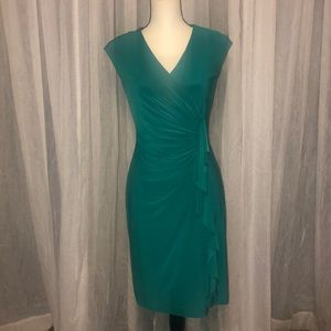 American Living turquoise dress size 6